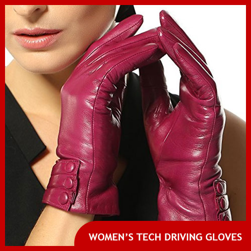 Women's Touch Screen Driving Gloves