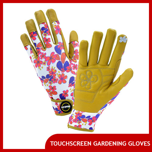 Touchscreen Gloves for Gardening and Landscaping