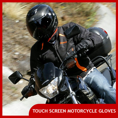 Touch Screen Motorcycle Gloves for Men