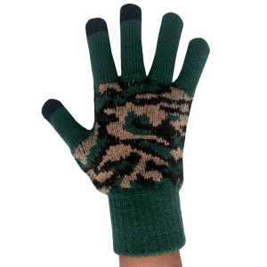 Camo Texting Gloves for Teens