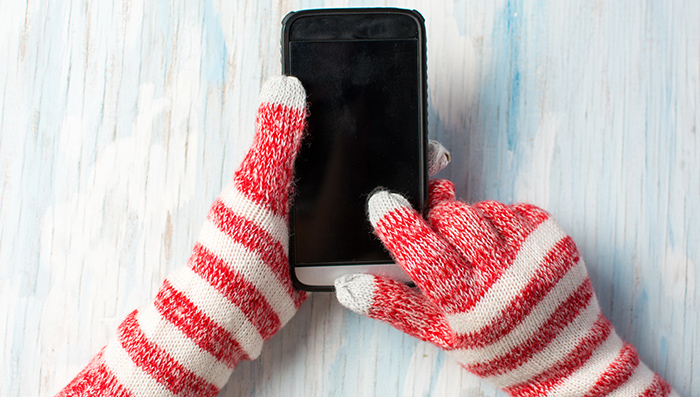 Cute Texting Gloves for Teens