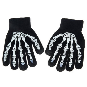 Skeleton Hand Texting Glvoes for Teens