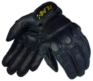 ILM Blackjack Vintage Motorcycle Tech Gloves
