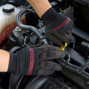 Galatia Gear Synthetic Leather Touch Screen Work Gloves