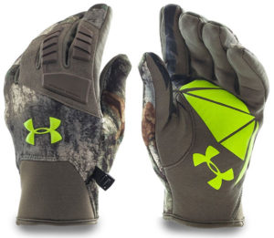 Under Armour Men's ColdGear Infrared Speed Freek Texting Gloves for Hunting
