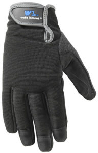 Wells Lamont High Dexterity Synthetic Leather Smartphone Work Gloves