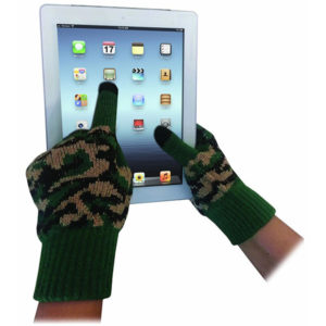 Camo Touch Screen Gloves