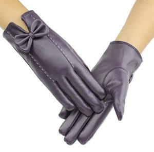 D. King Women's Touch Screen Driving Gloves