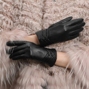GSG Women's Leather Driving Gloves