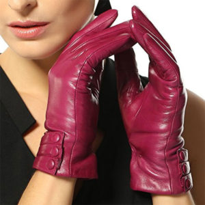 Warmen Nappa Leather Touch Screen Driving Gloves