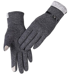 Women's Knit Driving & Texting Gloves