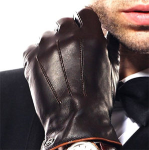 Elma Luxury Men's Texting Driving Gloves