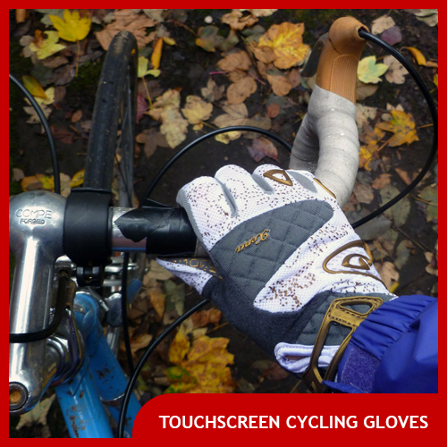 Touch Screen Cycling Gloves
