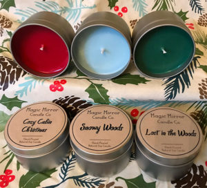 Christmas Candle Trio - Stocking Stuffers